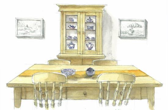 食器棚インテリア